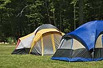 Tents on Campsite